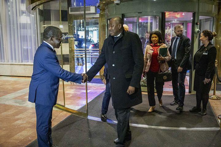 Le Premier Ministre ivoirien, Amadou Gon Coulibaly, à Oslo pour une conférence sur le financement  de la santé.