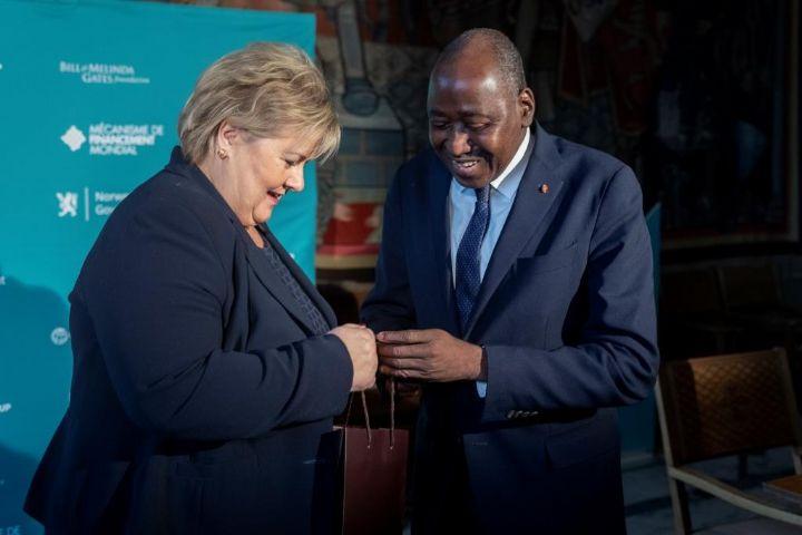 Côte d'Ivoire-Norvège : le premier ministre ivoirien, Amadou Gon Coulibaly, se réjouit de l'excellence de la coopération entre les deux pays