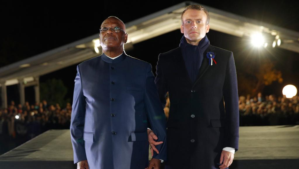 A Reims, Macron et Keïta célèbrent «les aïeux de ceux qu'on est allé défendre»