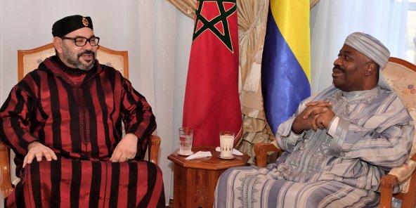 Gabon : le roi Mohammed VI rend visite à Ali Bongo Ondimba, hospitalisé au Maroc