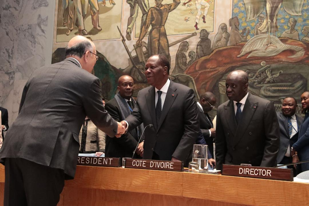 Conseil de Sécurité de l'ONU : Ouattara
