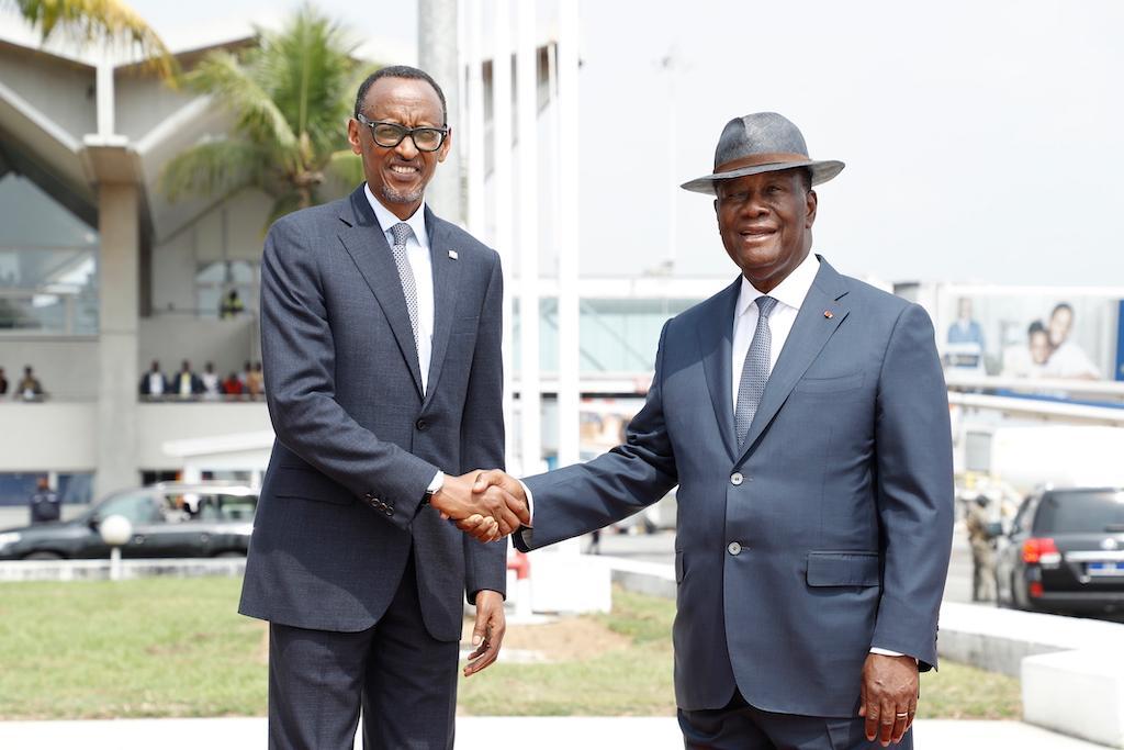 Coopération ivoiro-rwandaise: Quatre accords de partenariats signés entre les deux pays