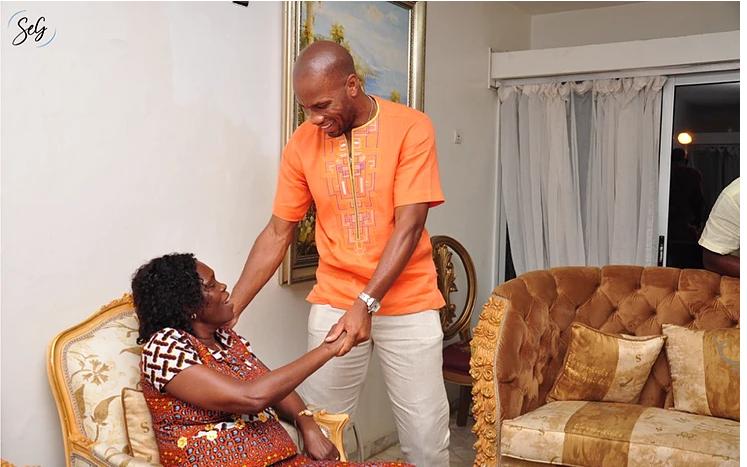 Didier Drogba rend une visite surprise à Simone Gbagbo en Côte-d'Ivoire