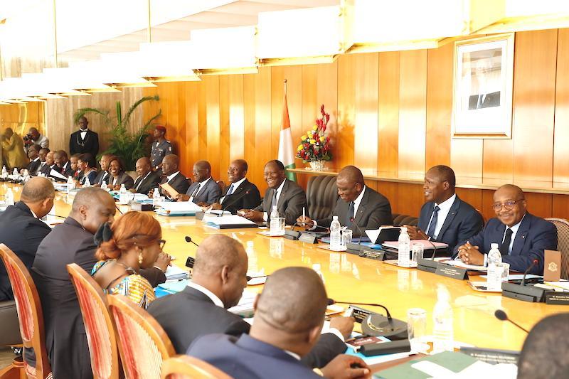 Côte d'Ivoire : Premier Conseil des ministres de l'année 2019 placé sous le signe du social.