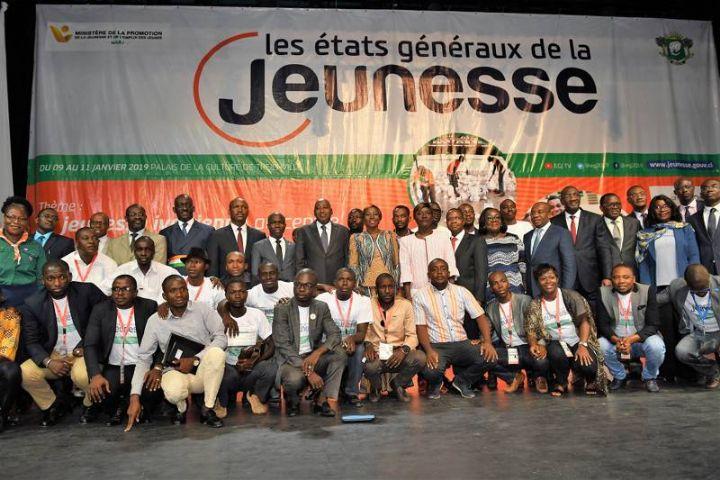 Etats généraux de la Jeunesse : Amadou Gon Coulibaly appelle à plus de responsabilité de la jeunesse, promet l'accompagnement du Gouvernement