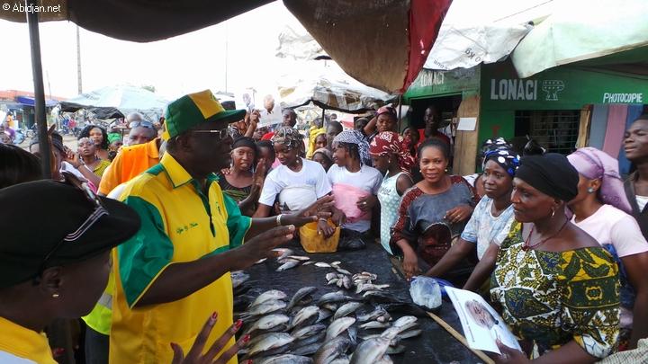 Le gouvernement ivoirien a décidé la reconstruction du marché principal de Bouaké