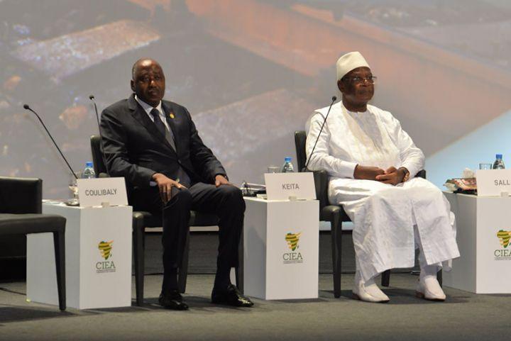 Le Premier Ministre Amadou Gon Coulibaly reçu en audience par le Président Ibrahim Boubacar Kéita