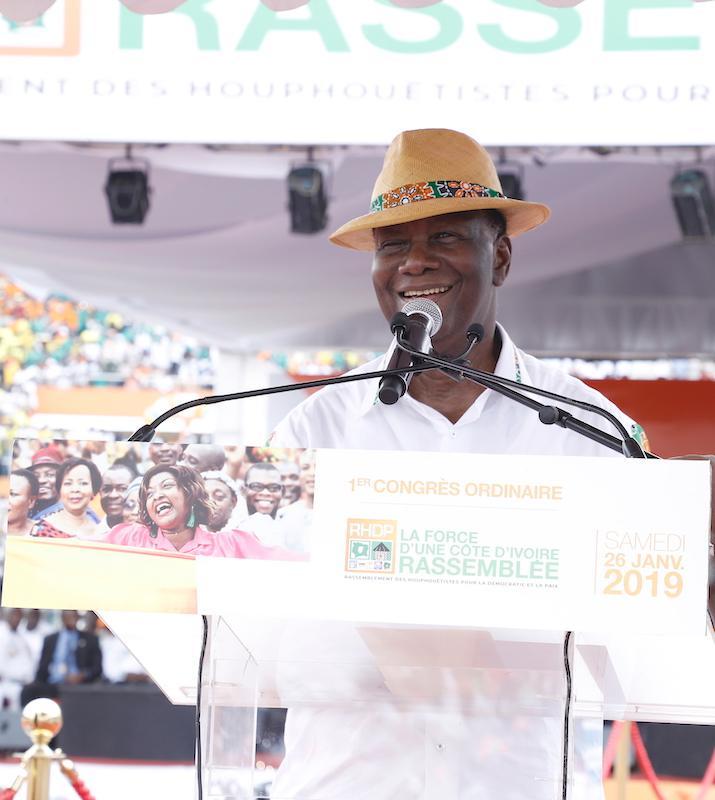 Côte d'Ivoire : Alassane Ouattara dira en 2020 s'il brigue un 3e mandat