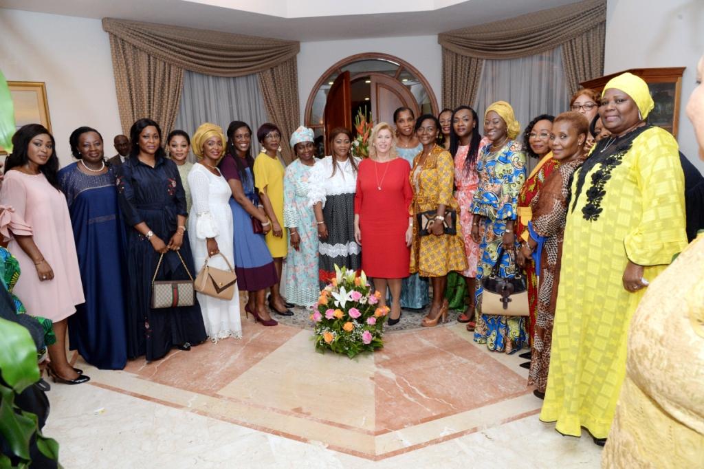 Côte d'Ivoire -Nouvel an : Les femmes présentent leurs voeux à la Première Dame