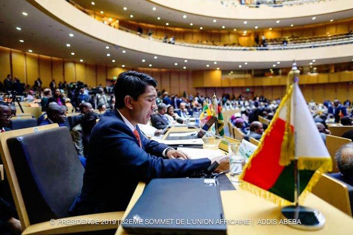 Sommet de l'Union Africaine :  Le discours d'Andry Rajoelina, rassembleur et frondeur