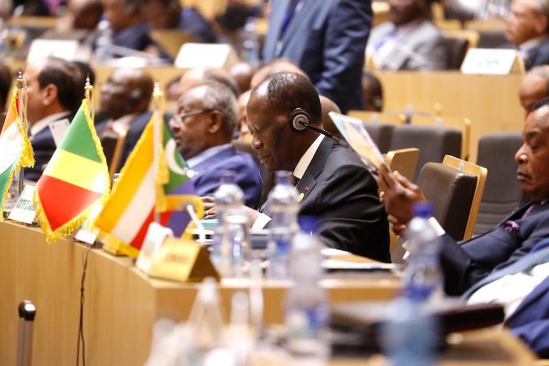 Alassane Ouattara: «Pas question d'empêcher la candidature de qui que ce soit»