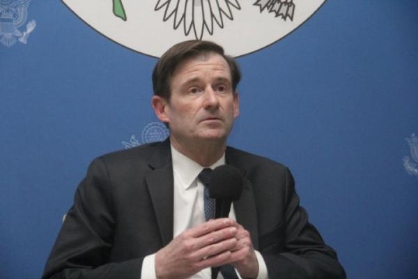Sous secrétaire d'Etat américain, David Hale