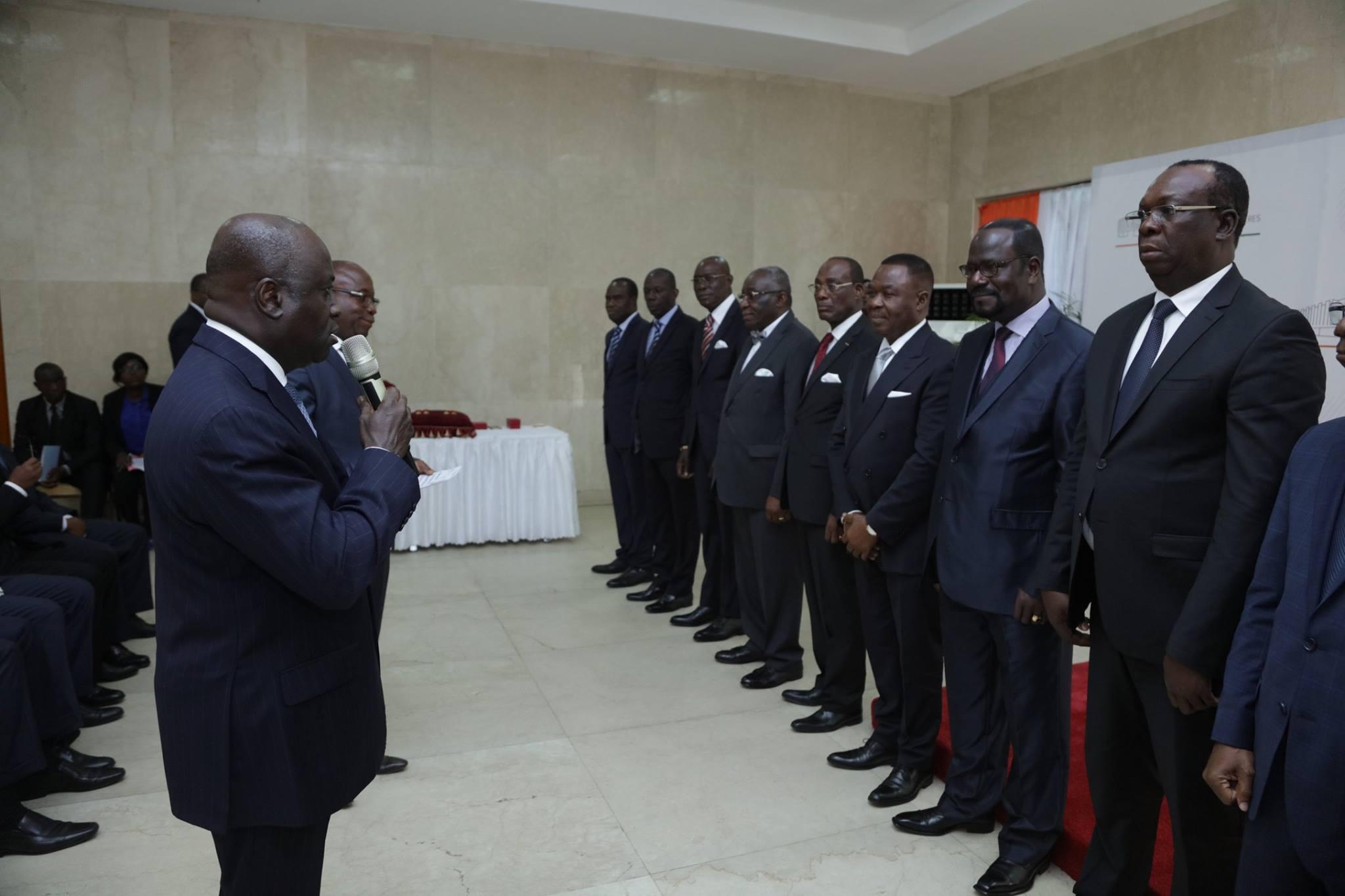 Seize diplomates honorés en couronnement du succès de la diplomatie ivoirienne