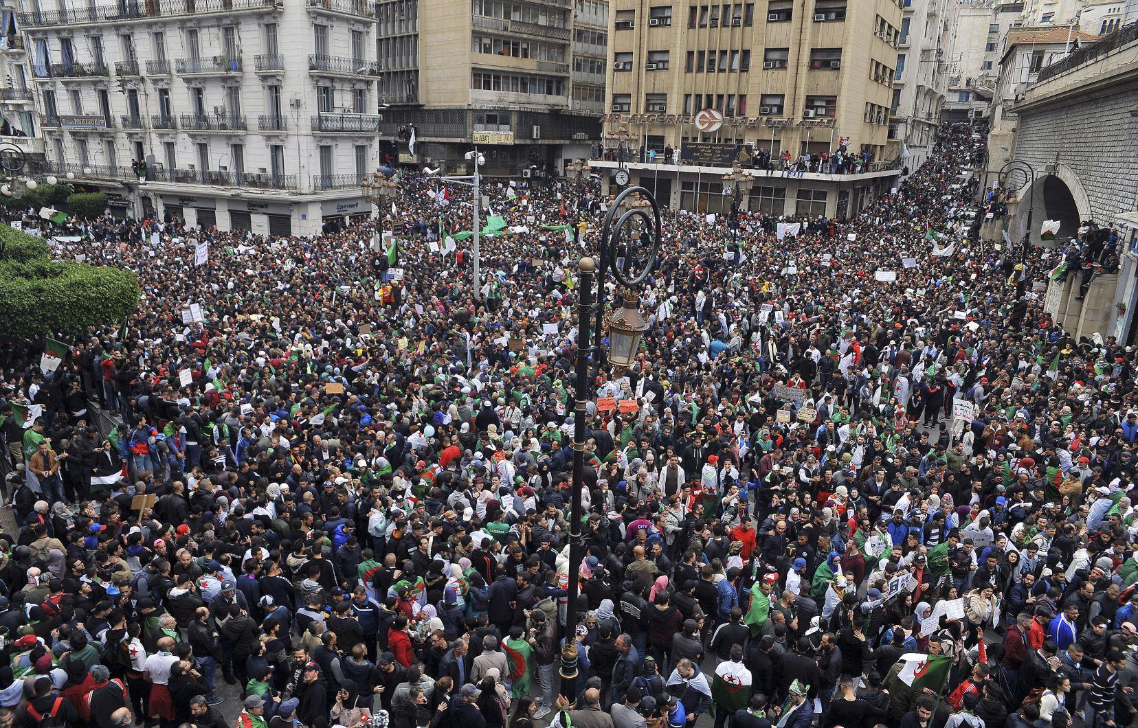 Le peuple algérien n'est plus disposé à faire la moindre concession