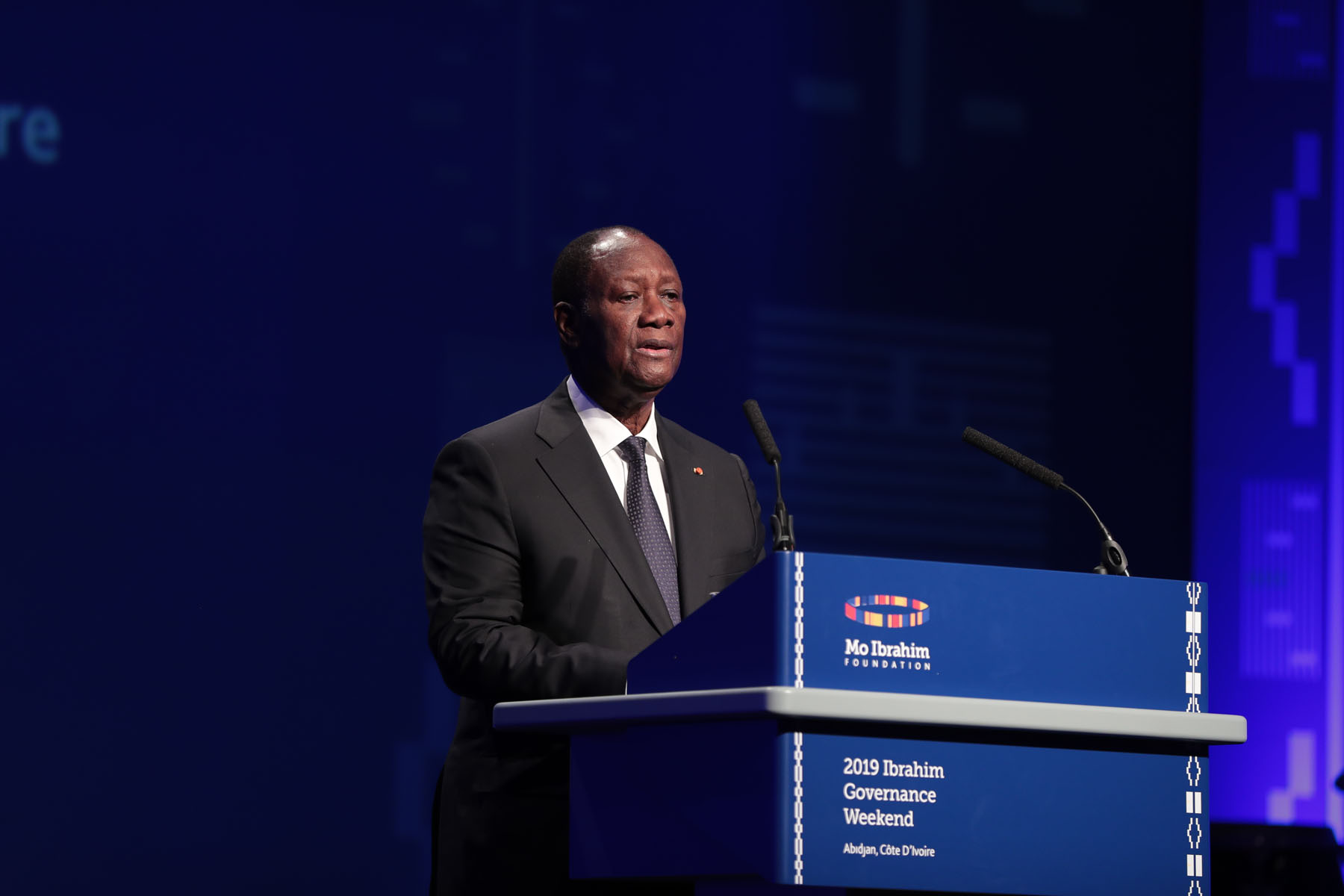 Le Chef de l'Etat a présidé la cérémonie d'ouverture du Forum ''Mo Ibrahim Governance week-end''