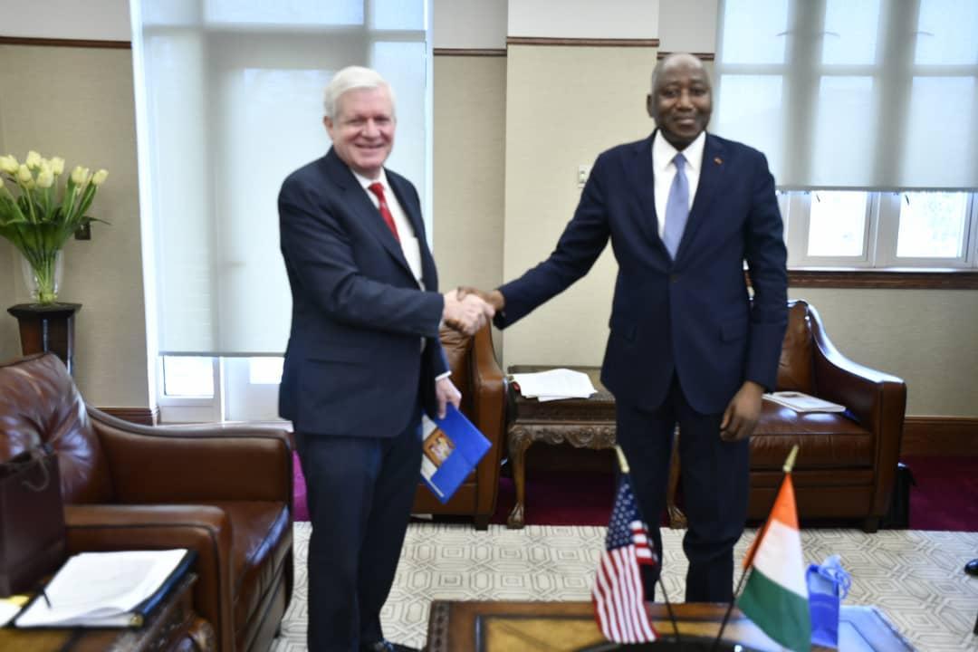Réunions de Printemps FMI-Banque mondiale:   Washington entend renforcer l'investissement privé américain en Côte d'Ivoire