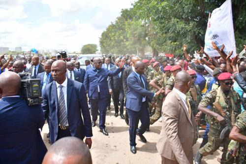 RDC : Félix Tshisekedi en visite à Lubumbashi en proie à l'insécurité