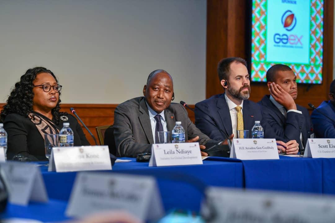 Filière anacarde : la grande offensive du Premier Ministre Amadou Gon Coulibaly en direction du secteur privé américain à Washington