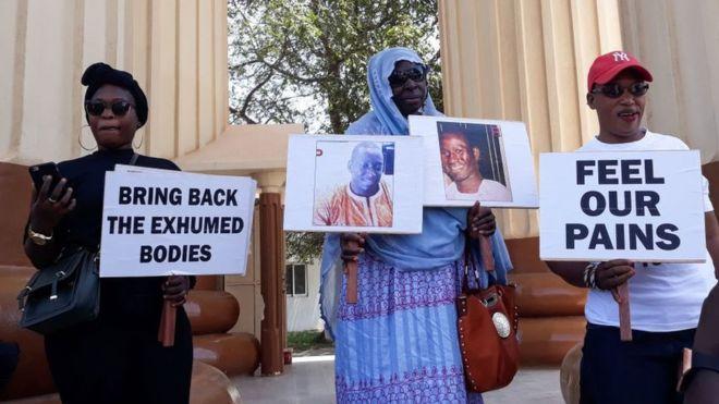 Les victimes du 10 avril en Gambie s'opposent à l'amnistie