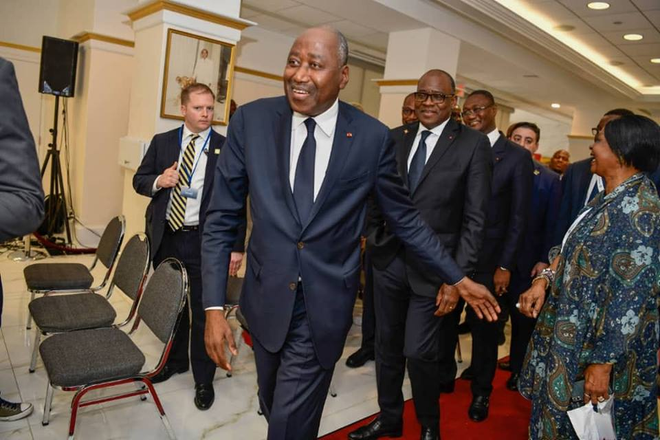 Diaspora ivoirienne aux Etats-Unis : le Premier Ministre ivoirien, Amadou Gon Coulibaly, encourage les Ivoiriens à entreprendre au pays