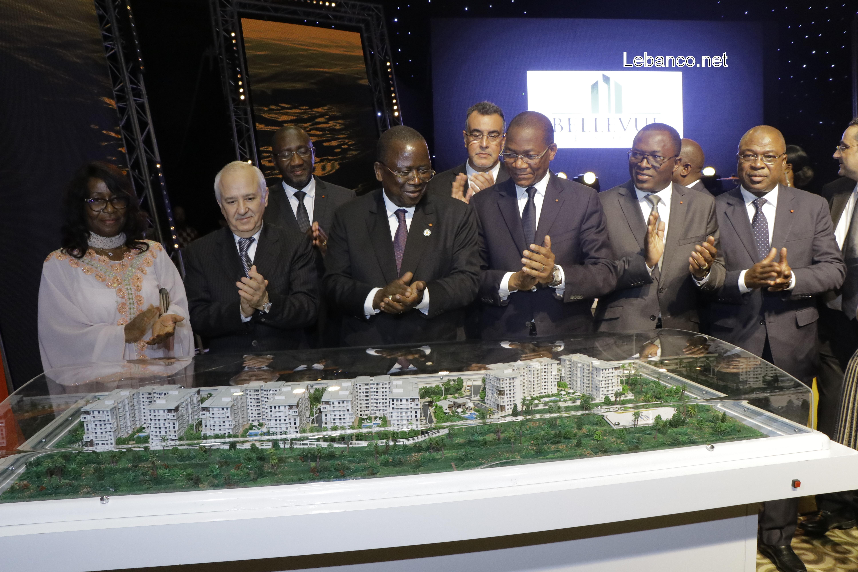 Promotion de l'activité immobilière en Côte d'Ivoire :  Bruno Koné félicite le groupe Addoha