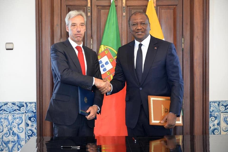 Côte d'Ivoire-Portugal: Hamed Bakayoko signe un accord sur la coopération maritime