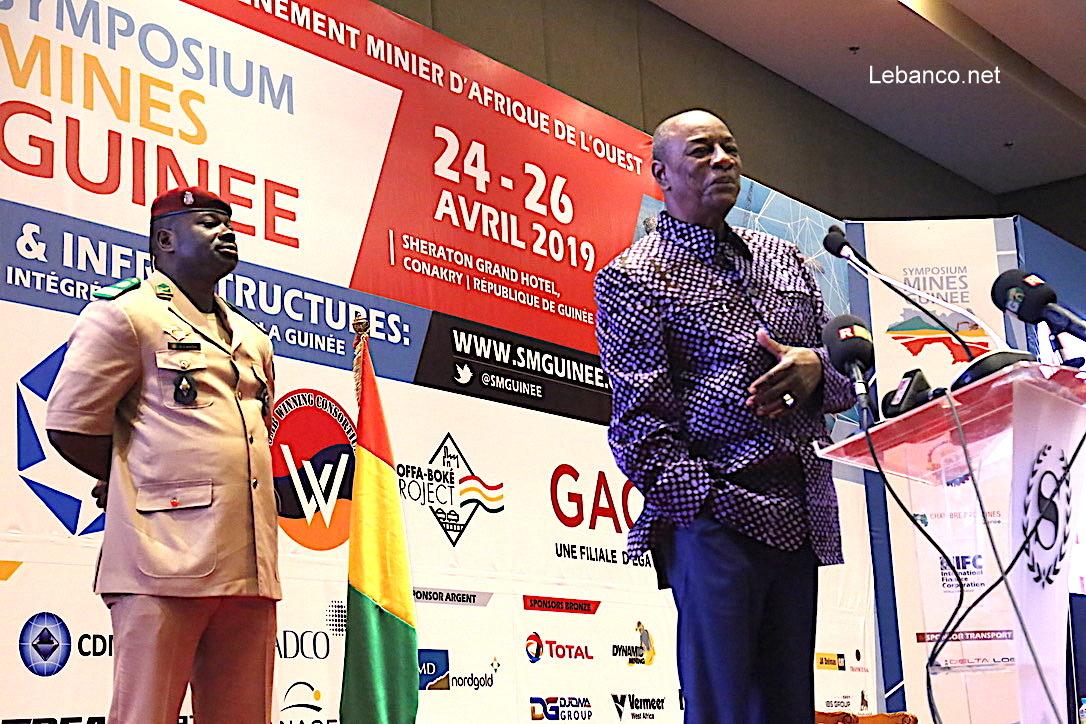 Symposium mines Guinée:  Le Président Alpha Condé lance les travaux