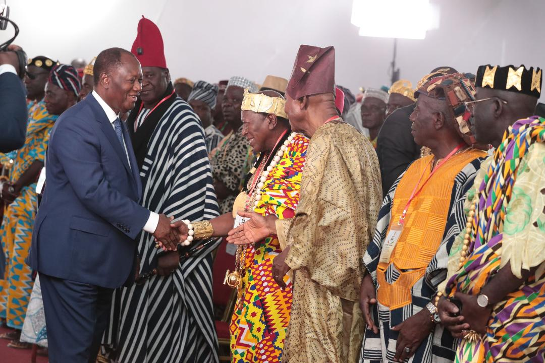 Le Chef de l'Etat a présidé un Conseil des Ministres et eu une rencontre avec les Chefs traditionnels, à Yamoussoukro
