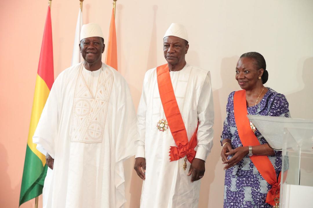 Le Chef de l'Etat a offert un déjeuner en l'honneur de son homologue guinéen