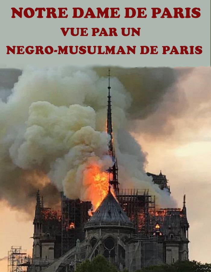 Notre Dame de Paris vue par un négro-musulman de Paris (Par Aliou TALL)