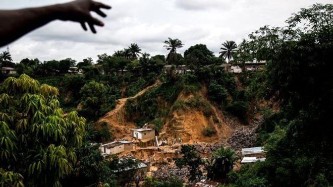 RDC: l'écroulement du mur d'une église fait 5 morts