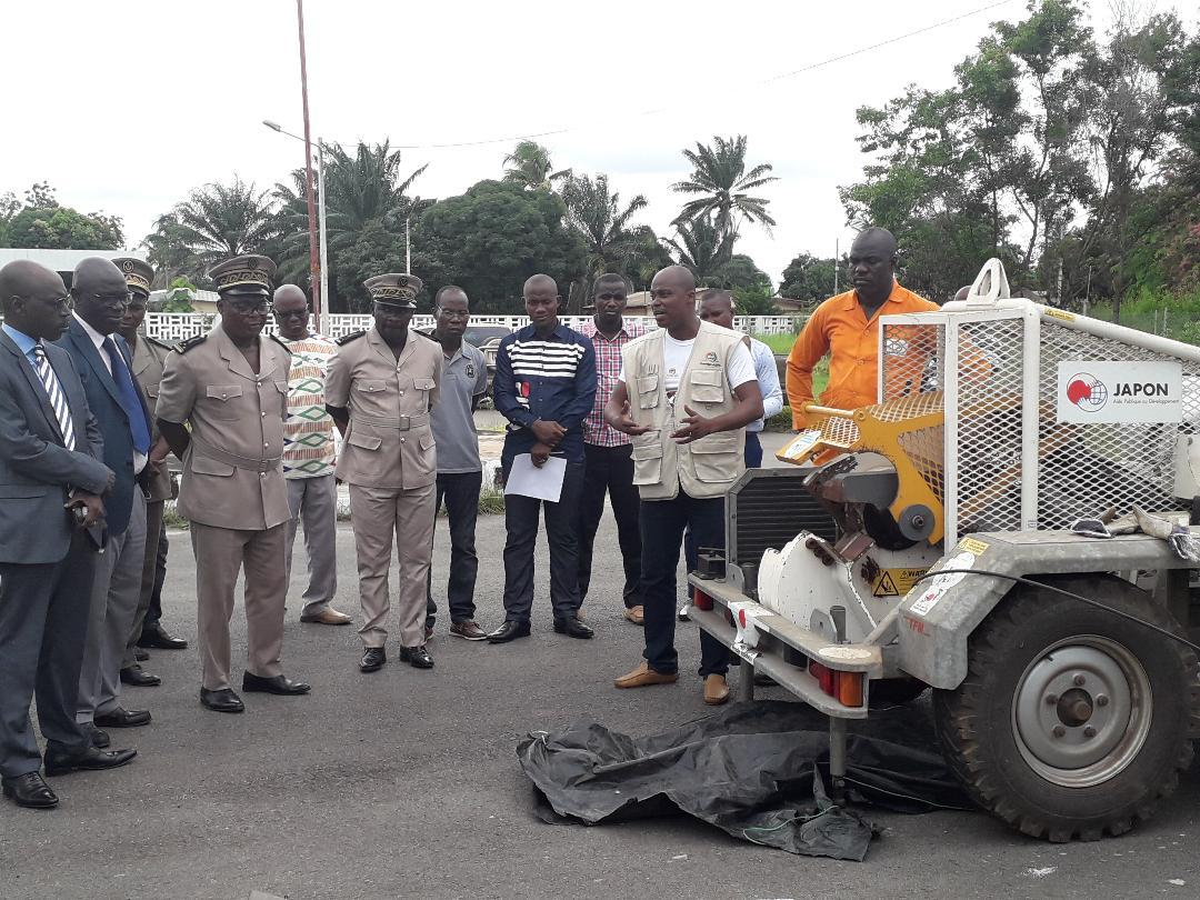 Lutte contre les ALPC illicites : Plusieurs dizaines d'armes saisies détruites par la ComNat à M'Bahiakro conformément aux normes internationales
