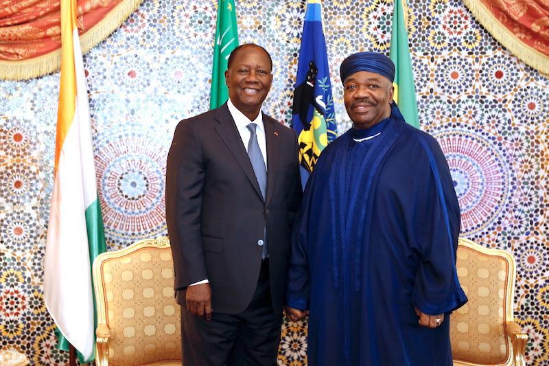 Le Chef de l'Etat a effectué une visite d'amitié et de travail au Gabon