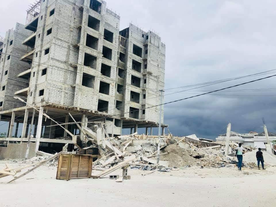 Côte d'Ivoire/Effondrement d'un immeuble à Angré (Cocody) :  Le ministère de la Construction dénonce