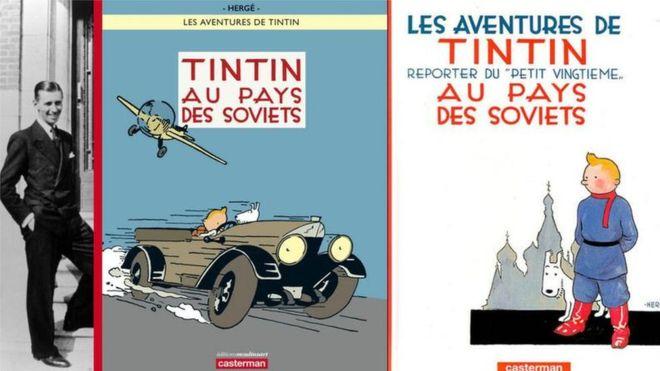 Le dessin de Tintin vendu 1,1 million de dollars