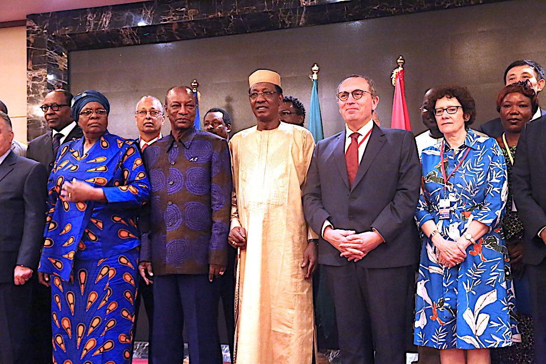 Forum des énergies renouvelables pour l'Afrique  : Les Présidents Condé et Déby lancent les travaux