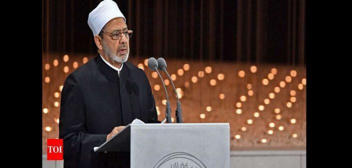 « La polygamie est une injustice envers les femmes.... », dixit le grand imam égyptien