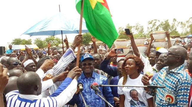 Présidentielle 2020 : Kadré Désiré Ouédraogo réaffirme sa candidature à Ziniaré