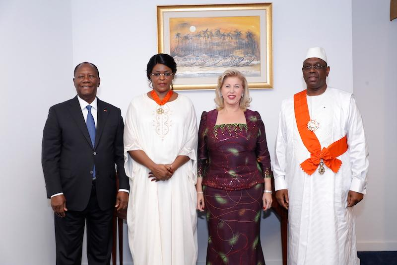 Le Chef de l'Etat et la Première Dame ont offert un dîner officiel en l'honneur du Couple présidentiel sénégalais