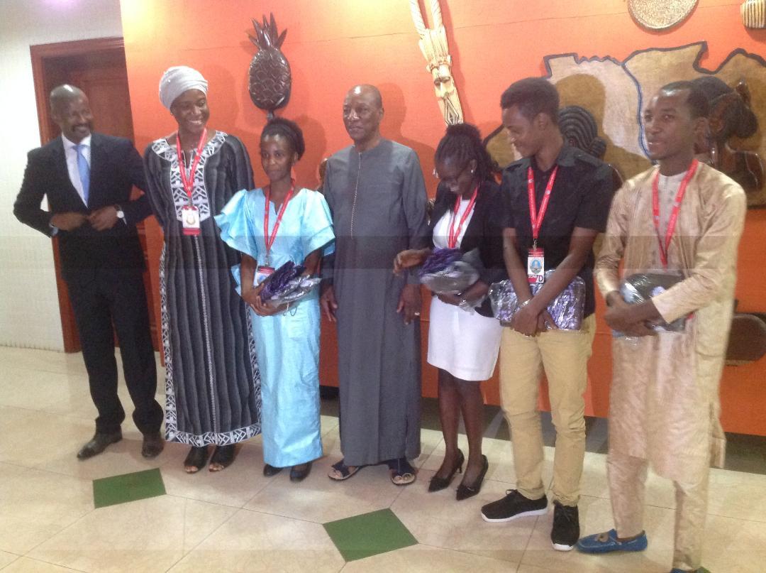 Semaine du numérique : Le Président Alpha Condé reçoit les lauréats