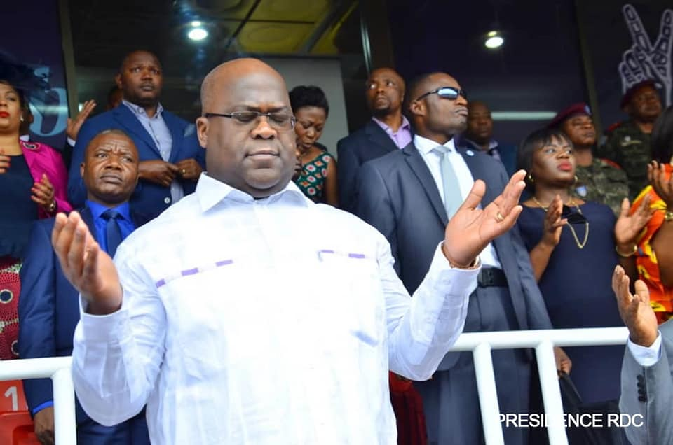 RDC : Félix Tshisekedi demande pardon à Dieu pour « le sang des innocents versé intentionnellement ou par erreur »