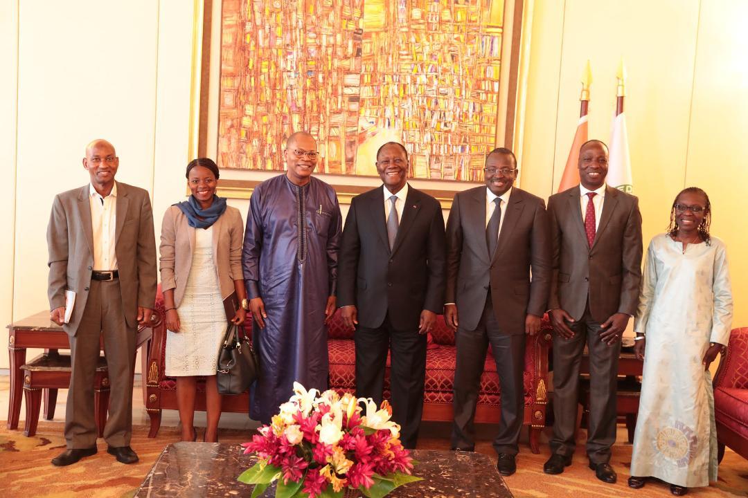 Le Chef de l'Etat a eu un entretien avec le Représentant Spécial du Secrétaire Général des Nations Unies pour l'Afrique de l'Ouest