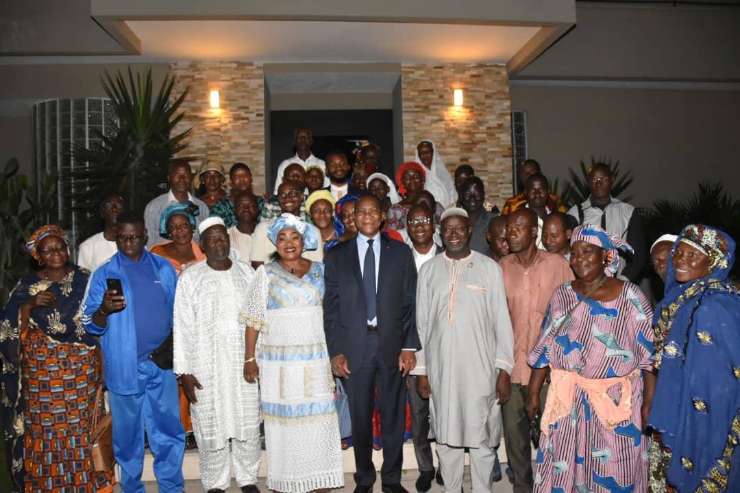 Côte d'Ivoire : Les populations de Tengrela (nord) rendent hommage à Bruno Koné