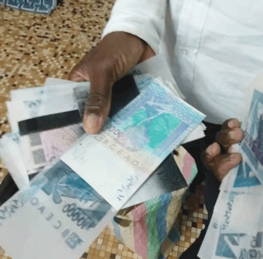 Trafic de faux billets: Un individu transportant 58 millions Fcfa de faux billets, dans les filets de la gendarmerie
