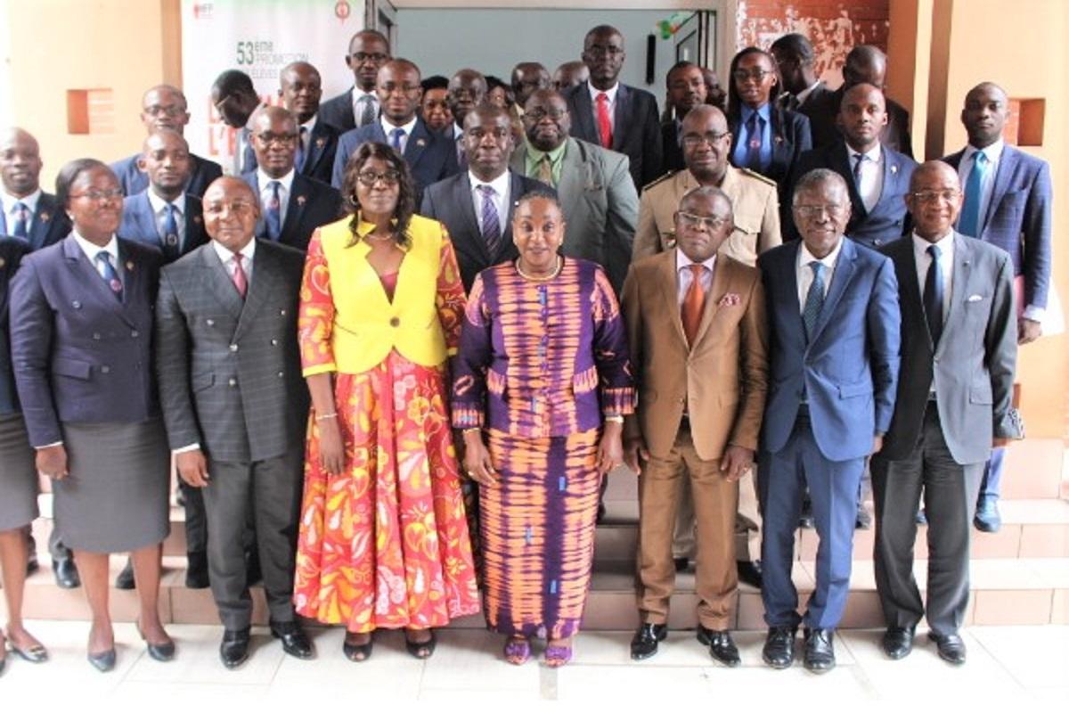 Côte d'Ivoire- Semaine de l'énarque : La ministre Raymonde Goudou Coffie invite les élèves administrateurs  à être des exemples
