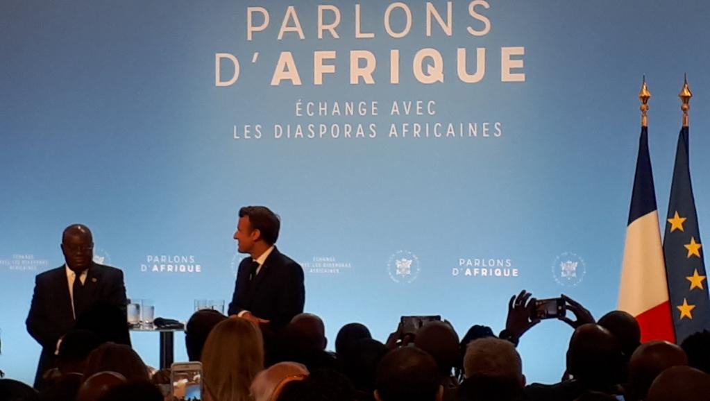 Rencontre Macron/ diasporas africaines : Tout ça , c'est woba woba
