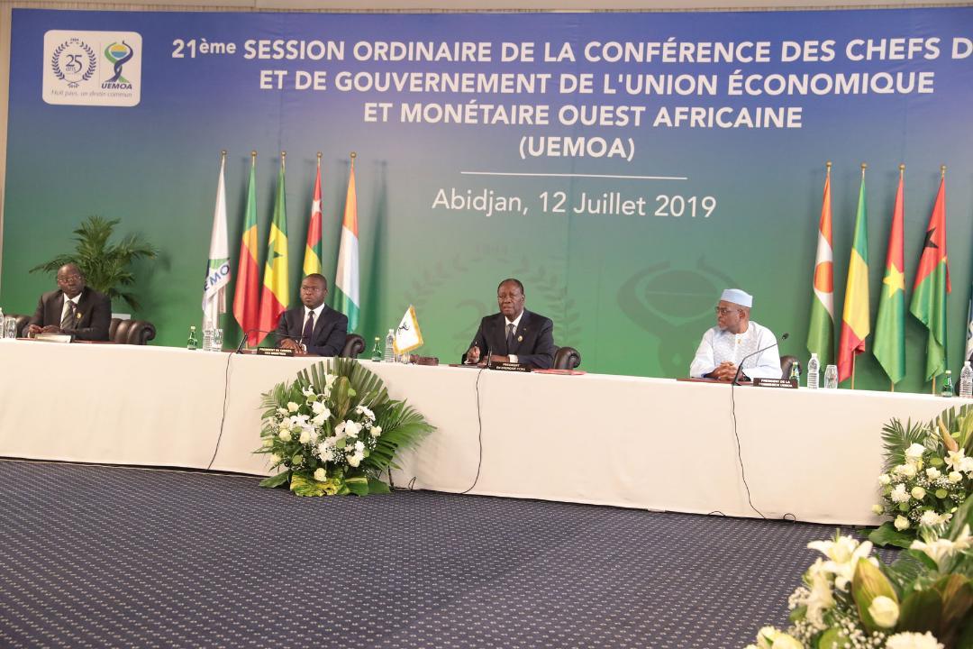 Le Chef de l'Etat a présidé la cérémonie d'ouverture de la 21e Session ordinaire de l'UEMOA, à Abidjan