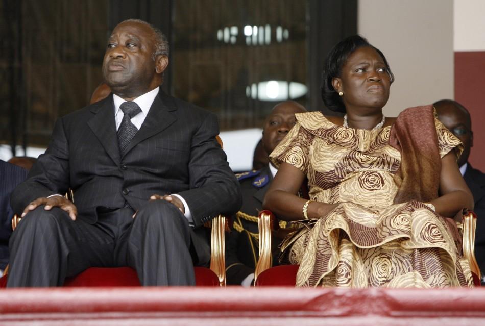 Gbagbo arriva dans le sang