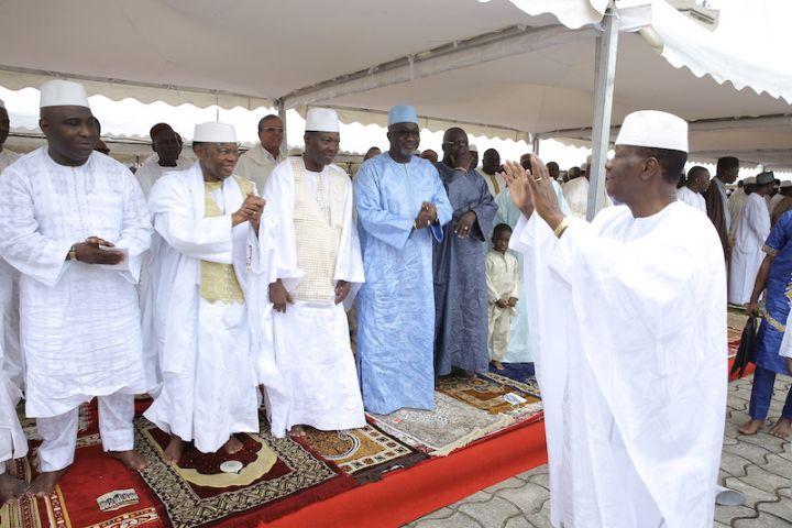 Côte d'Ivoire/ Fête de Tabaski : Ouattara absent à la célébration de la prière à la Riviera Golf