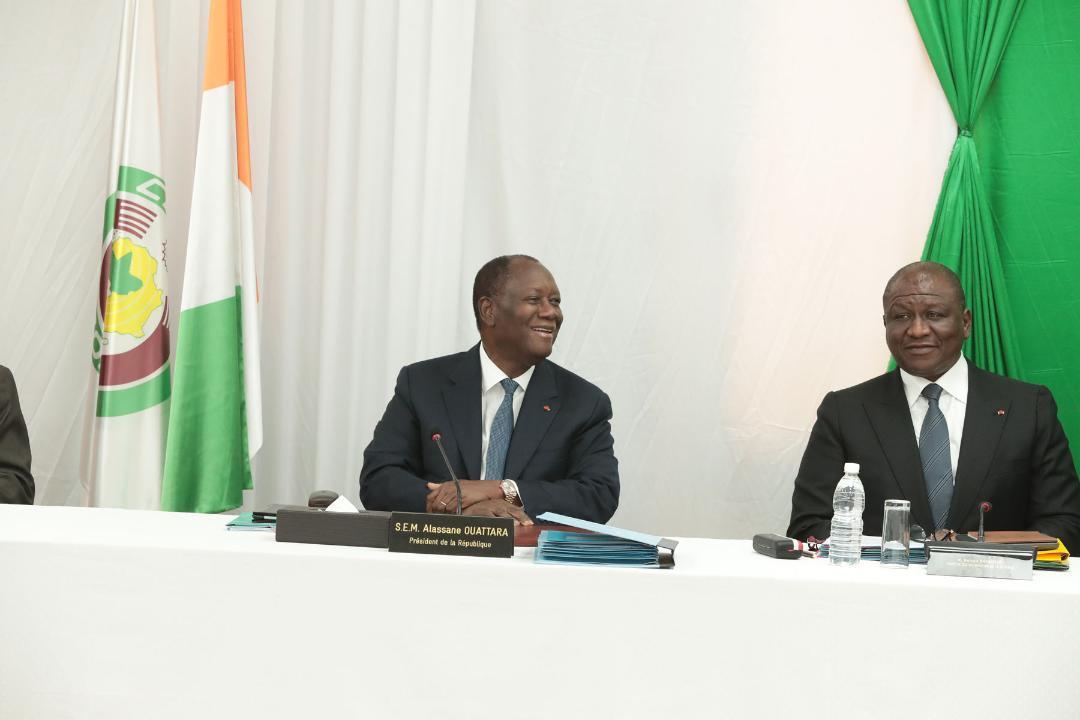 Visite d'Etat du Président  dans le N'Zi: Le Conseil des ministres se tient actuellement à la Préfecture de Dimbokro